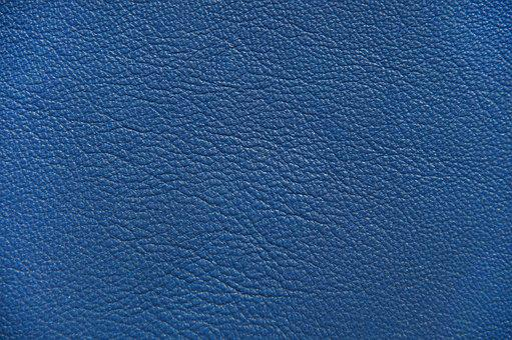 Leather, Blue, Bluish, Texture, Structure, Background