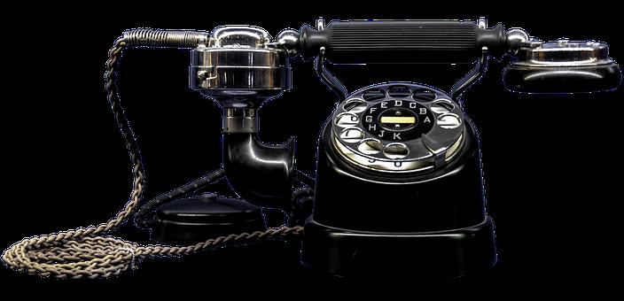 Phone, Old, Telephone Handset, Bakelite, Old Phone