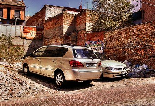 Urban, Scene, Urban Scene, City, Cityscape, Cars