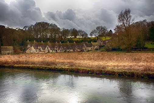 Cotswolds, Village, English, England, Uk, Countryside