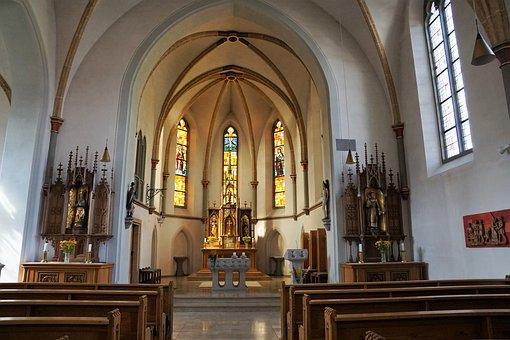 Kirch, Mühlheim Style, Altar, Religion, Holy, God