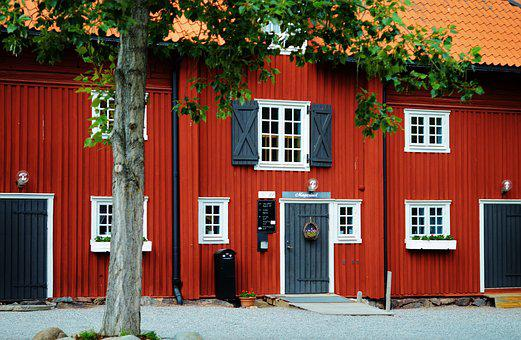 House, Red, Home, Constructor, Building, Architecture