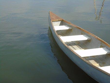 Canoeing, Water, Lake, Nature, Aquatics, Summer