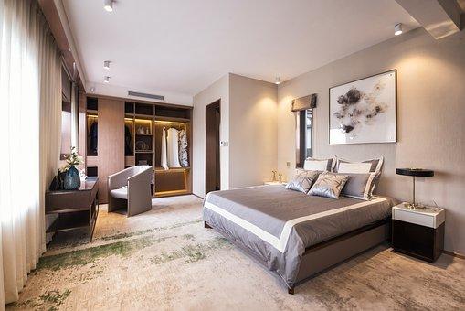 Sample Room, Bedroom, Home