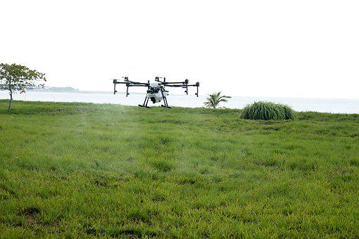 Drone Asperjando, Drone Farm, Fumigation, Spray