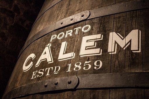 Calem, Postage, Portugal, Barrel, Wooden, Wood, Tests