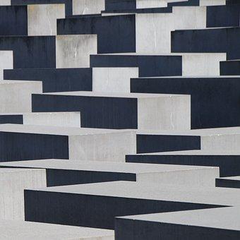 Berlin, Holocaust Memorial, Memorial, Grey
