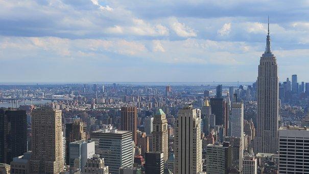 Skyscraper, City, New York, Empire State Building