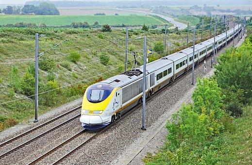 Eurostarzug, Paris - London, At Calais, Fast Track
