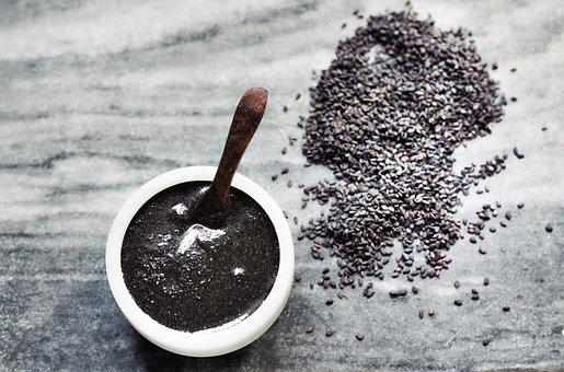 Tahini, Black Sesame Seeds, Healthy