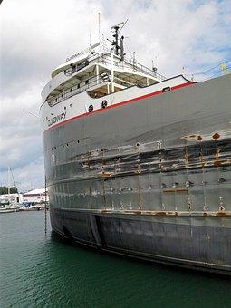 Freight Liner, Ship, Liner, Shipping, Transportation