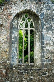 Muckross, Ruin, Ireland, Old Building, Monastery, Abbey