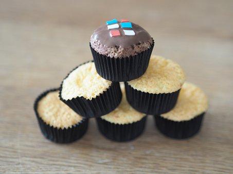 Muffins, Süßpeise, Dessert, Nibble, Sugar, Baked Goods