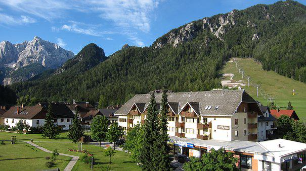 Mountain, Valley, Slovenia, Alpine, Mountains, Peak