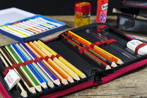 Back To School, School, Pencil Cases, Pencil Case