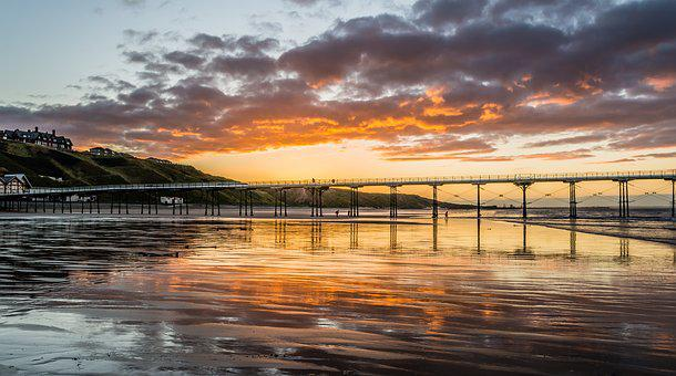 Pier, Saltburn, Saltburn By The Sea, Yorkshire Autumn