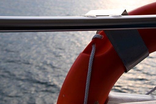 Lifebelt, Boat, Ship, Rescue, Shipping, Emergency