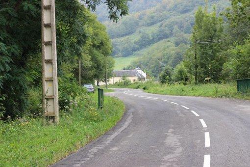 Pyrenee, Mountain, Lanne In Baretous, South, France