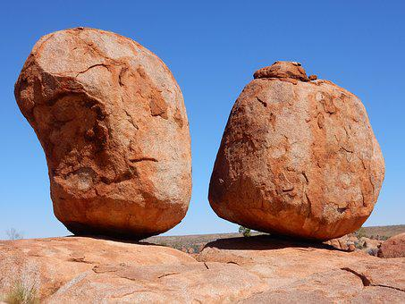 Devils, Marbles, Rocks, Outback, Northern, Travel