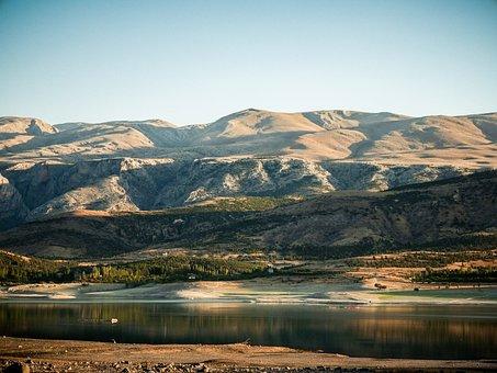 Mountain, Lake, Mountains, Landscape, Turkey, Nature