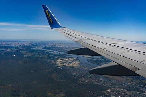Uia, Ukrainian Airlines, Flight, Flying, Sky