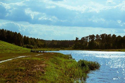 Lake, Water, Landscape, Nature, Pond, Lagoon