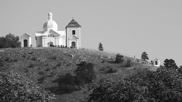 Holy Hill, A Place Of Pilgrimage, Church On The Hill