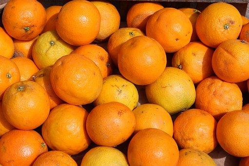 Oranges, Orange, Citrus Fruit, Fruit, Vitamin C