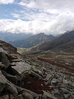 Himalaya, Clouds, Hill Station, Hilly Slope, Vegetation