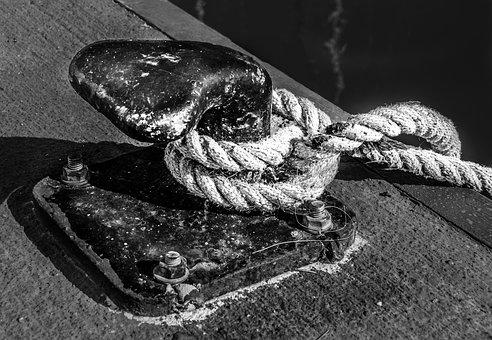 Ship, Rope, Knot, Sea, Boat, Marine, Tie, Cord, Navy