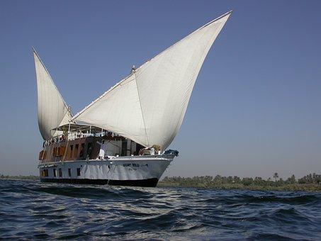 Egypt, Nile, River, Cruise, Dahabeya, Nile Cruise