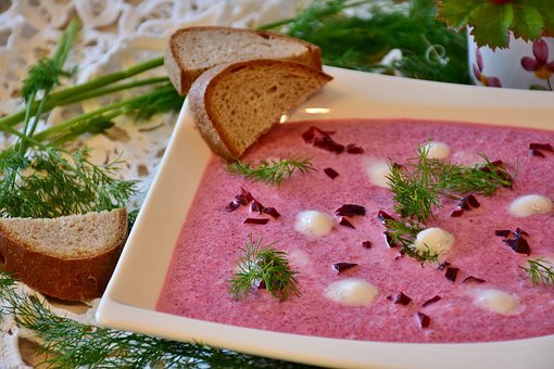 Beetroot, Soup, Eat, Food, Delicious, Salty, Enjoy