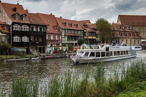 Bamberg, Fishermen Houses, Main, Fishermen's Quarter
