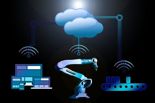 Industry, Industry 4, Network, Interfaces