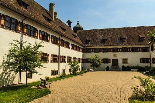 Inzigkofen, Monastery, School, Nuns, Masonry, Abandoned