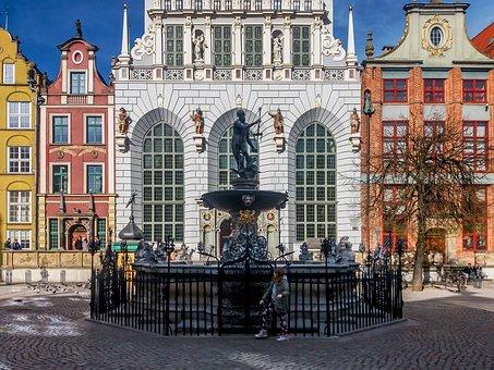 Gdańsk, Long Market, Neptunium, Arthur, City