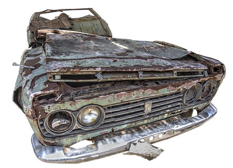 Auto, Wreck, Old Car, Oldtimer, Scrap, Broken