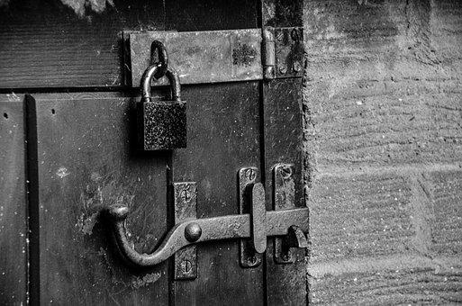 Door, Lock, Doorknob, Privacy, Exit, Keyhole, Open