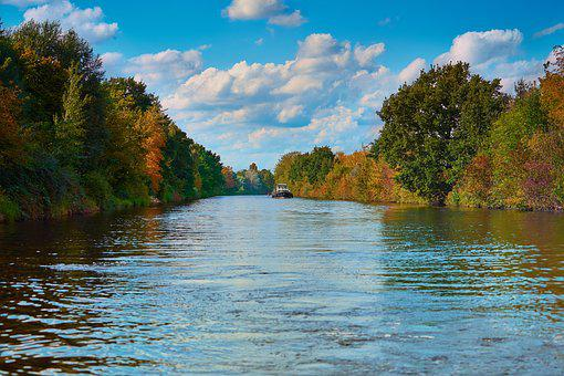River, Channel, The Teltow Canal, Water, Nature