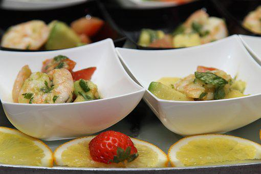 Food, Shrimp, Buffet, Dinner, Fish, Gastronomy, Kitchen