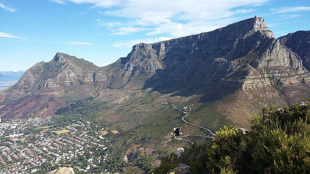 Table Mountain, Hike, Mount, Mountain, Hiking, South
