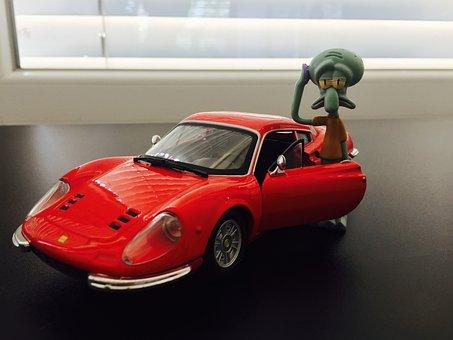 Porsche, Squidward, Spongebob, Sponge, Bob, Drunk