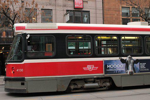 Streetcar, Transportation, Toronto, Transit, Transport