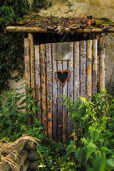 Privy, Wc Home, Loo, Toilet, Farm, Rustic