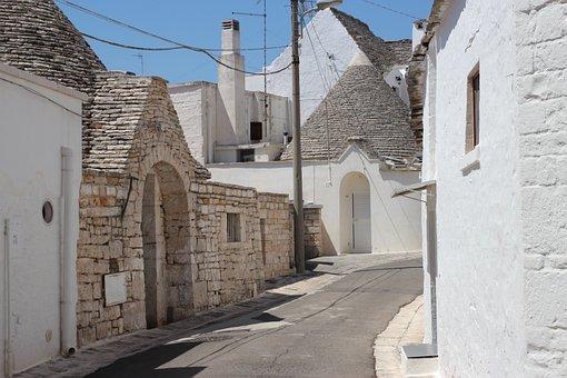 Puglia, Trulli, Alberobello, Houses, Construction