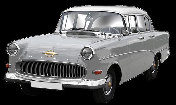 Opel, Record, Mouse Grey, Limousine, 4türer, Auto