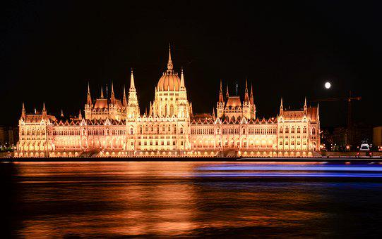 Budapest, Parliament, Danube, Hungary, Architecture
