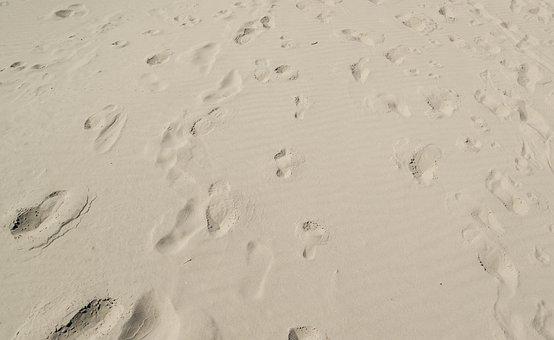Foot, Print, Sand, Footprint, Beach, Design, Walk