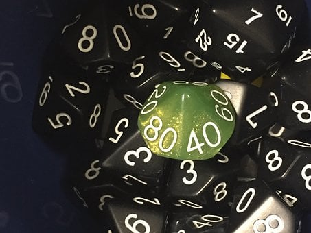 Dice, Games, Polyhedral, D10