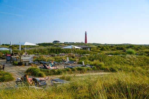 Schiermonnikoog, Island, Dunes, Landscape, Netherlands